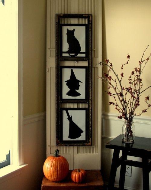 Оформление Хэллоуина картинами. #Хэллоуин #Helloween  #оформлениехэллоуина #страшныйхеллоуин #фонарьджека #Хеллоуин #оформление #декор #дизайн #банкет  #флористика #композиция