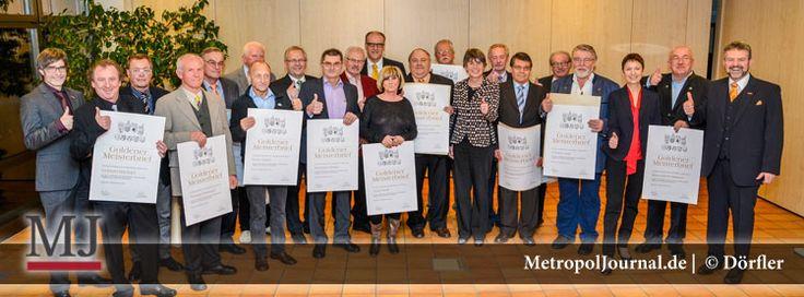 """(BT) """"Bambi"""" für die Goldenen Meister – 143 Handwerksmeister mit dem Goldenen Meisterbrief geehrt - http://metropoljournal.de/?p=8851"""
