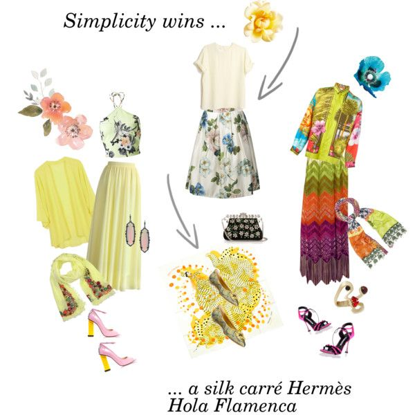 A fashion look from August 2016 by happiestime featuring Versace, Miss Selfridge, Chicwish, Lanvin, Manolo Blahnik, Camilla Elphick, Dolce&Gabbana, Etro, Kendra...