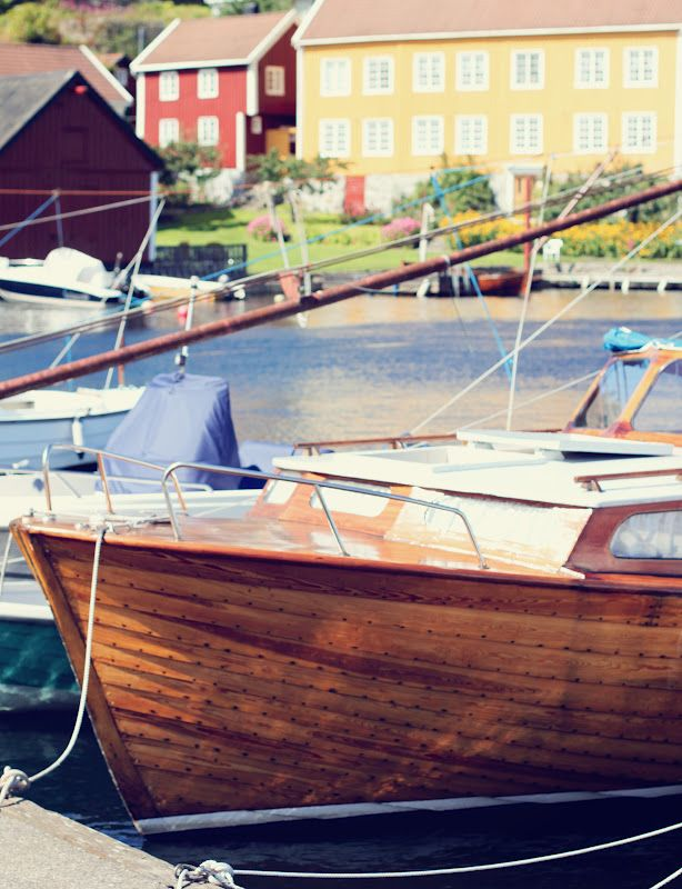 Arendal - Norway this looks so much like the boat my uncle Olaf used to have.