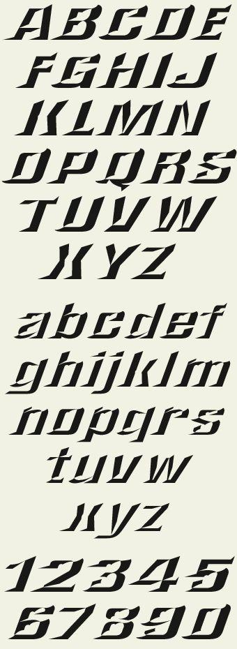 Letterhead Fonts / LHF Convecta / Prismatic Fonts