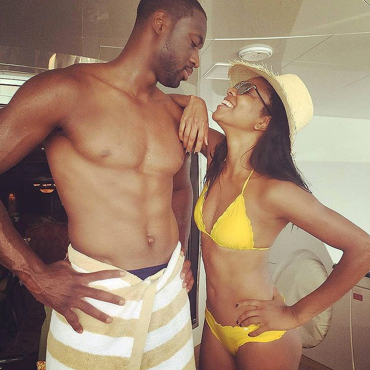 Gabrielle Union and Dwayne Wade Show Off Their Incredible Beach Bodies During Fourth of July Vacation with La La Anthony http://www.people.com/people/article/0,,20935581,00.html