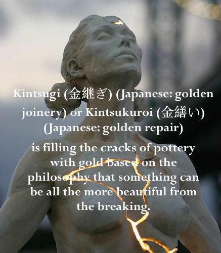 Kintsugi Japanese Philosophy | Quotes & Sayings ...