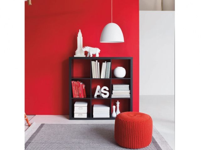 15 best Rouge images on Pinterest Home ideas, Living room and Lounges - decoration salon rouge noir blanc