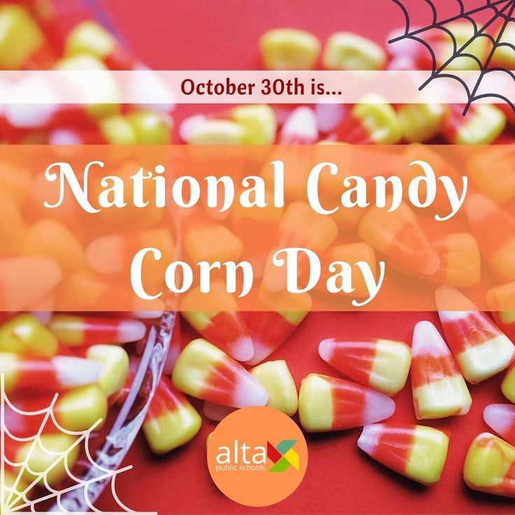 On October 30th The Country Celebrates Its Favorite Vegetable With National Candy Corn Day In The Late 1800s George Candy Companies Candy Corn Sweet Treats