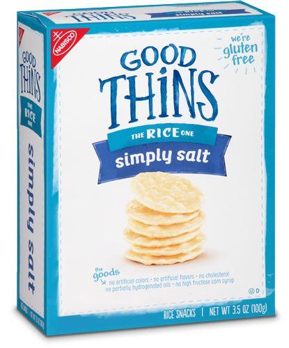 Simply Salt   Gluten Free Snacks   GOOD THiNS