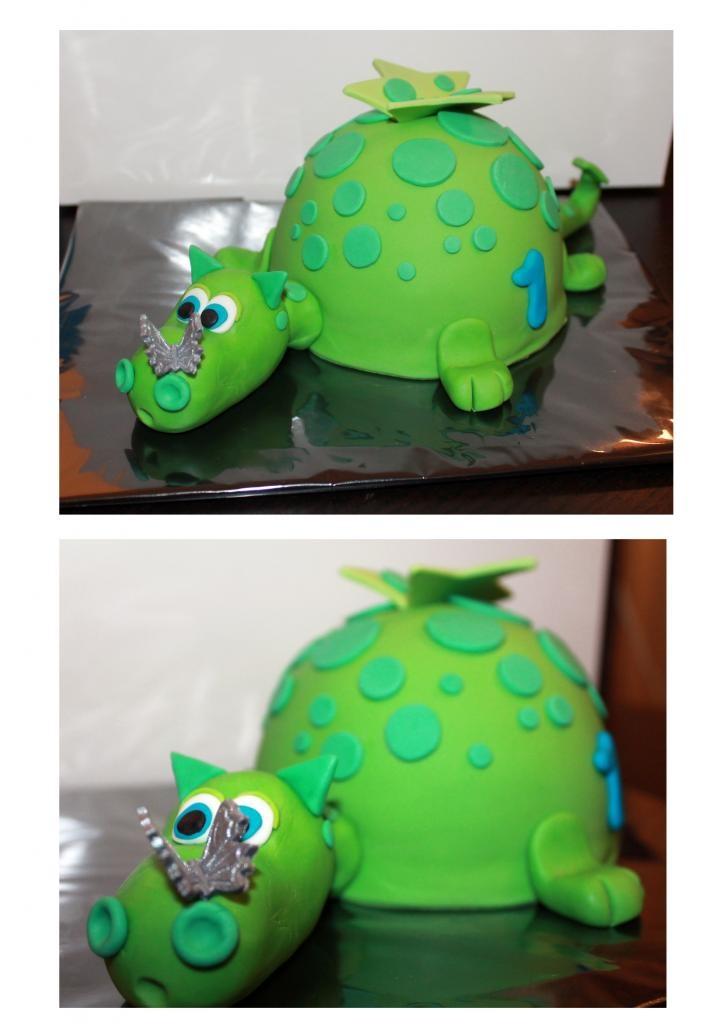 """taart en 2 meptaartjes thema draken! (Pagina 1) - Taarten Parade - Het """"DeLeuksteTaarten"""" - forum"""