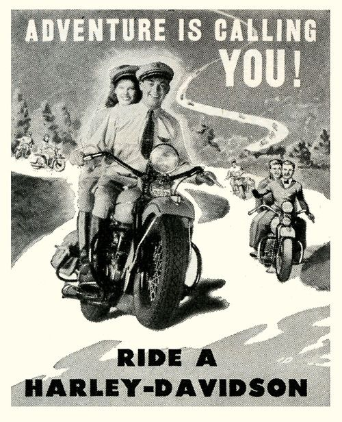 Harley Davidson Advertising: 20 Best Images About Harley Davidson Vintage Advertising