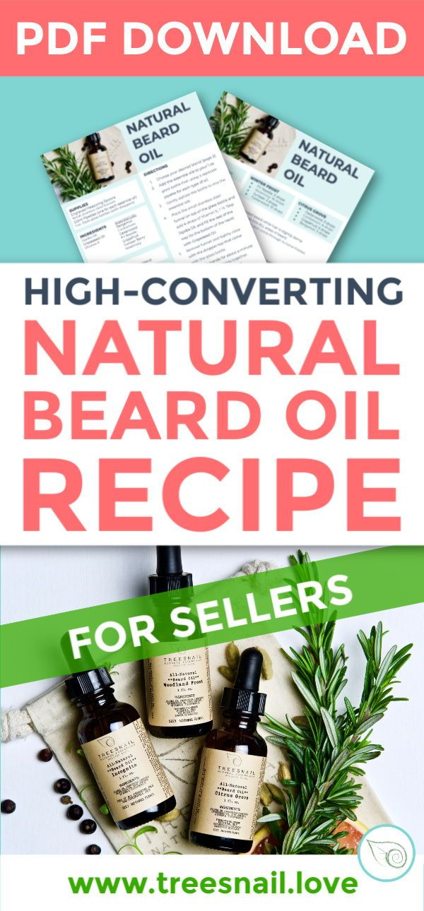 Natural Beard Oil Recipe Natural Beard Oil Beard Oil Diy Beard Oil