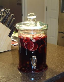 Sangria by Ree Drummond, The Pioneer Woman.  Can't wait to make this in the summer!