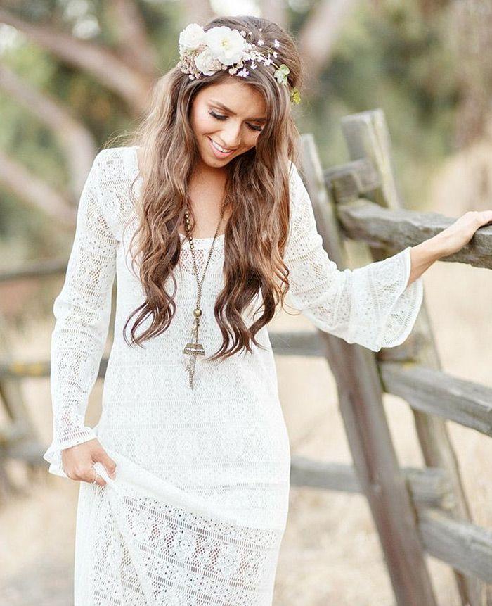 10 diferentes formas de coroa de flores, noiva, coroa de flores, flores, guirlanda de flores, coroa de flores para noivas, casamento de dia, beleza de noiva