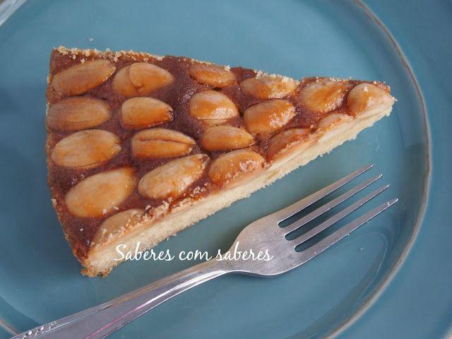 Saberes com Sabores: Tarte de Amêndoa... e a Lenda das Amendoeiras...