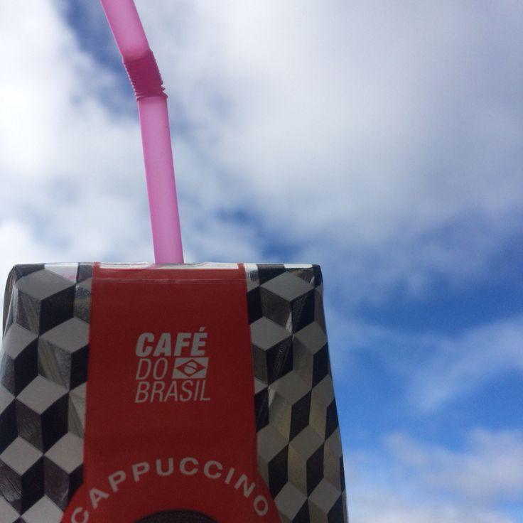Café do Brasil in Norway! Cappuccino Monday!