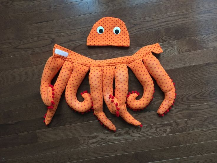 Octopus Costume for Toddlers || bonnieprojects.blogspot.com