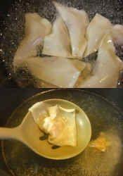 楽天が運営する楽天レシピ。ユーザーさんが投稿した「ワンタンスープ」のレシピページです。ツルンと美味しいワンタンスープです。。スープ。ワンタン皮,豚ミンチ,○白ネギ,○すりおろし生姜,○醤油,○酒,○ごま油,○砂糖,○こしょう,水