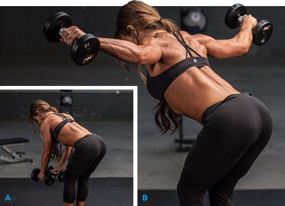 8 Ways To Make Your Rear Delts Roar | Female Fitness ...