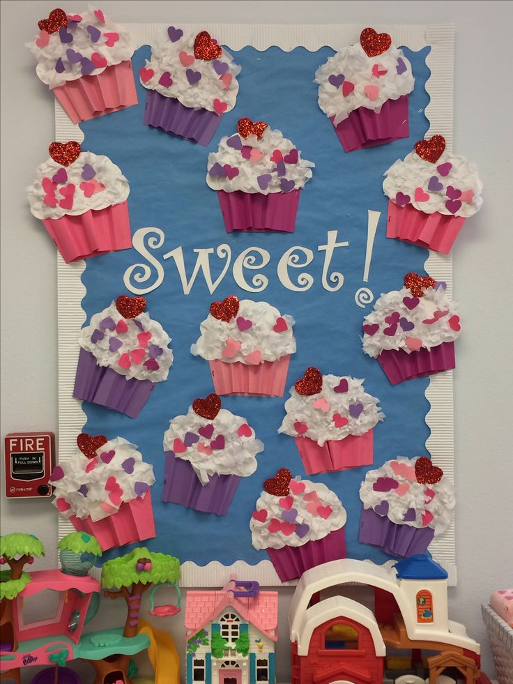 Sweet bulletin board picture only
