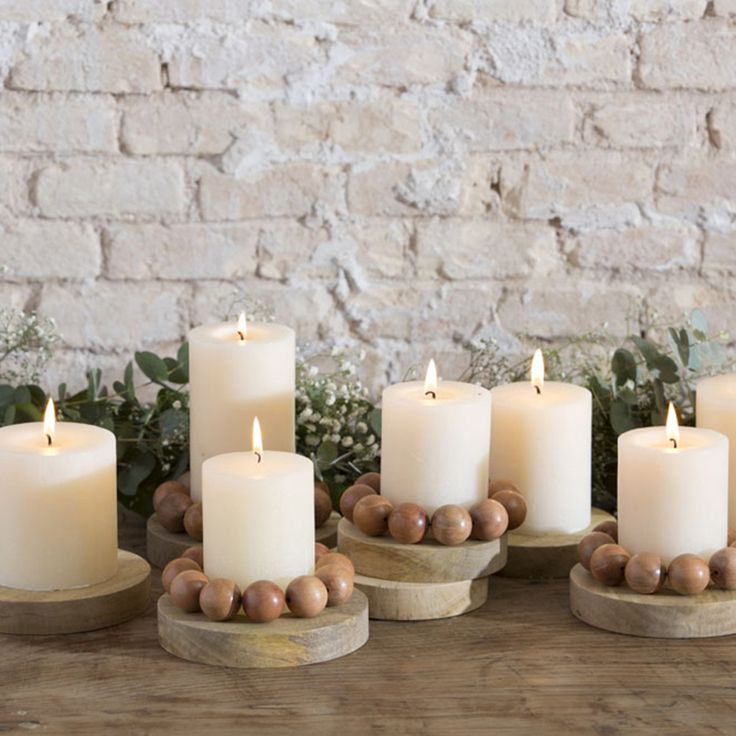 25 ideas destacadas sobre porta velas en pinterest madera faroles y decoraci n de madera r stica - Velas y portavelas ...