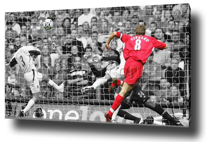 STEVEN GERRARD CANVAS WALL ART PRINT POSTER PHOTO FA CUP FINAL WEST HAM GOAL | Sports Memorabilia, Football Memorabilia, Other Football Memorabilia | eBay!