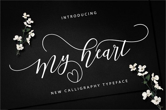 My Heart Script by Musafir LAB on @creativemarket