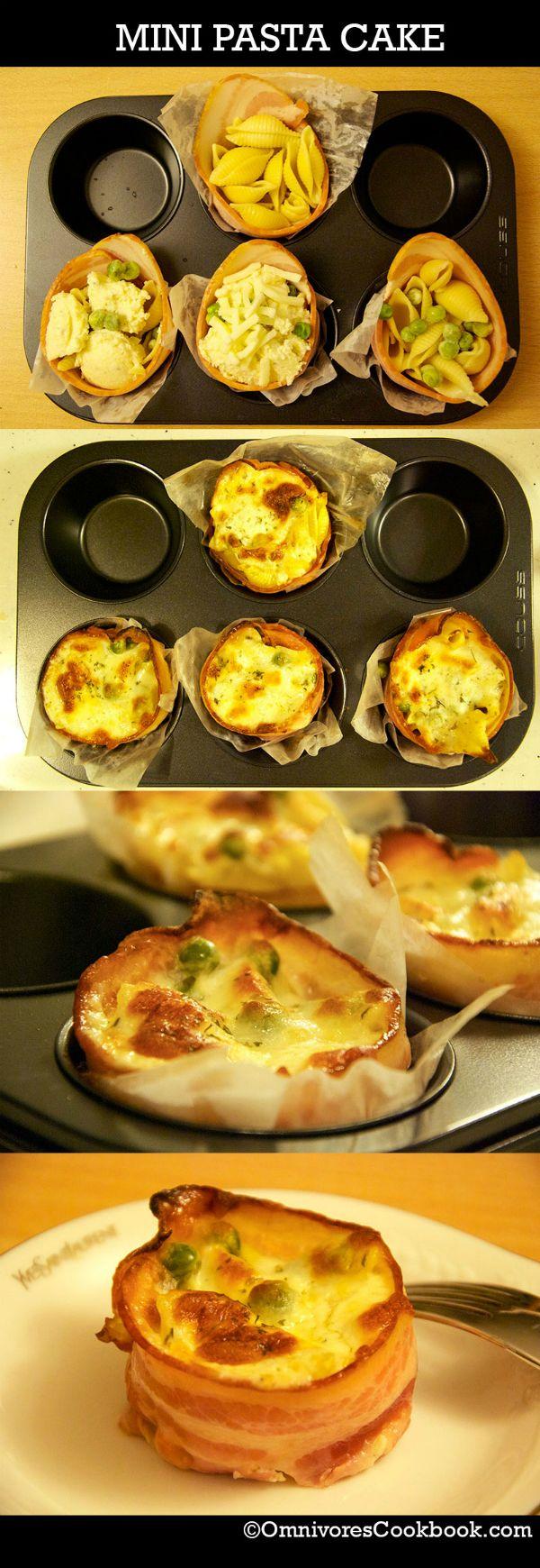 Mini Pasta Cakes