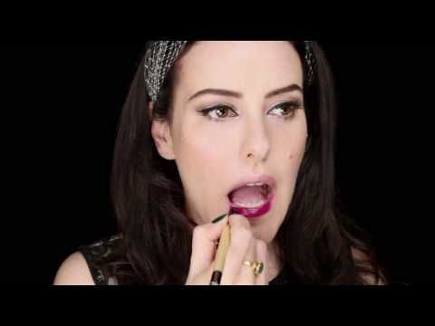 The ONLY Pin-up Video Makeup Tutorial you will ever need to watch!!! LOVE this!
