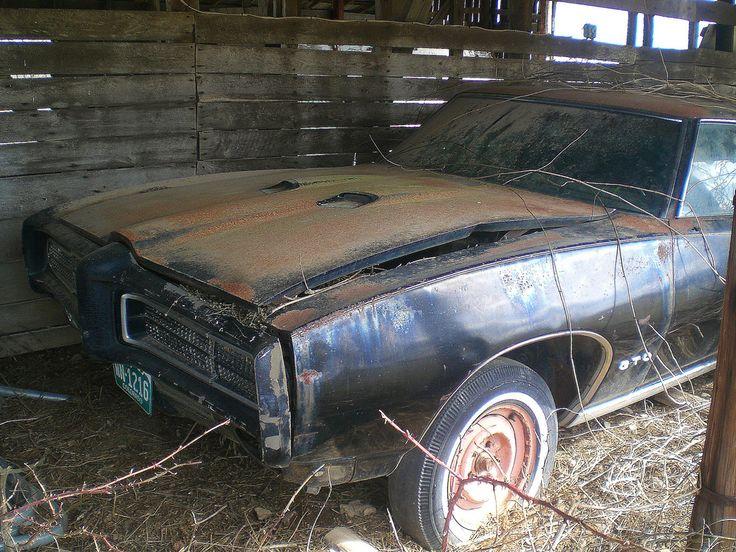 A Pontiac GTO Found In Barn On UU Highway Near Elkhead Missouri