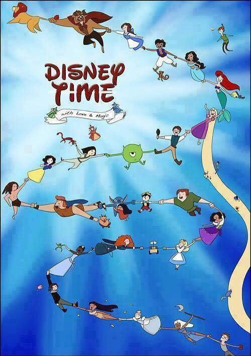 Disney adventure time style
