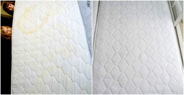 How To Remove Pee Stain From A Mattress