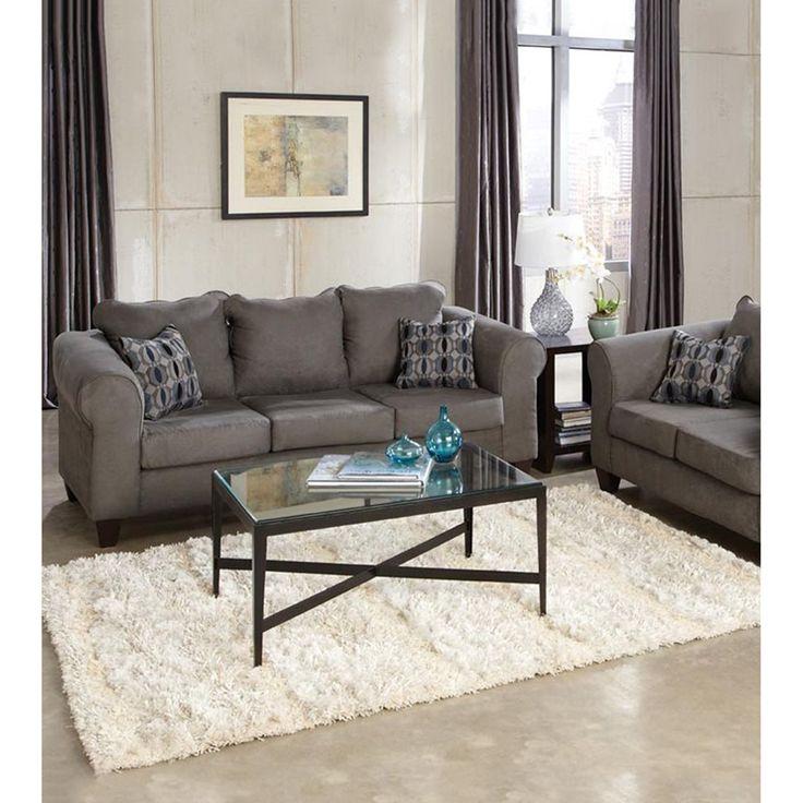 Bessey Sofa Gray Grey Living Room