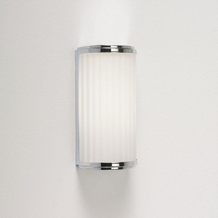The Monza Classic 250 Low Energy Bathroom Wall Or Mirror Light Has A Polished Chrome Finish