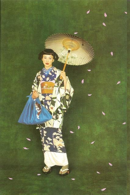 Kimono-hime issue 1. Fashion shoot page 4 by Satomi Grim, via Flickr