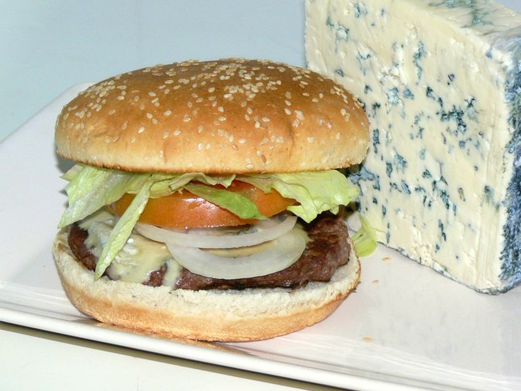 Blue cheese-burguer
