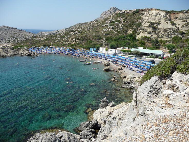 Ladiko beach, near Faliraki, Rhodes, Greece