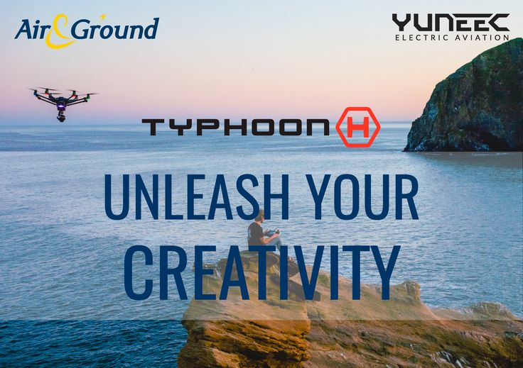 Unleash your creativity with the Typhoon H. The innovative and advanced aerial photography and videography platform from Yuneec Electrical Aviation. Contact sales@airandground.com to find out more or buy now with FREE package and posting to UK mainland on our eBay shop.