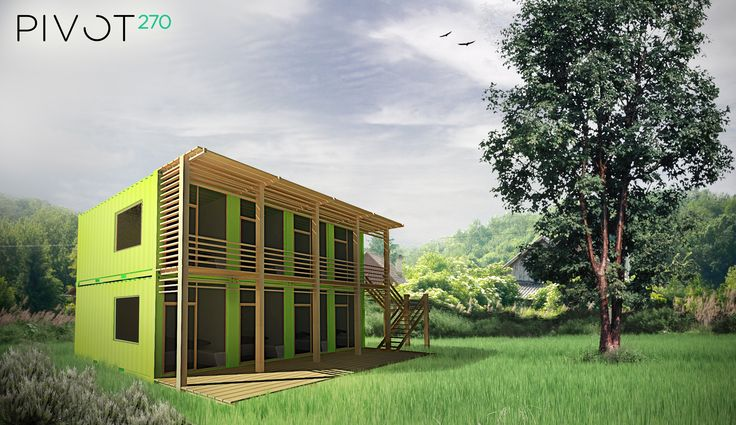 Container House design by Kati Ercsényi & Dávid Székely