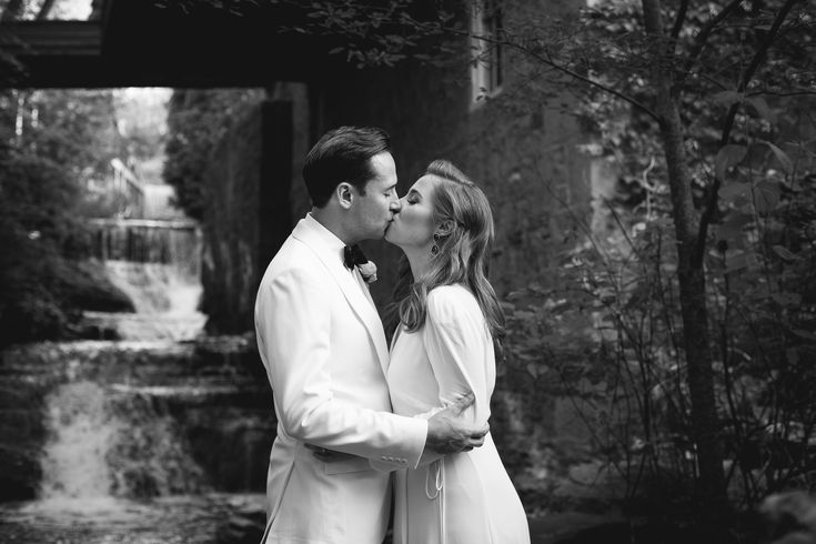 Ancaster Mill Wedding, Hamilton Wedding Photographer, White Suit, Groom in White, Red Head bride