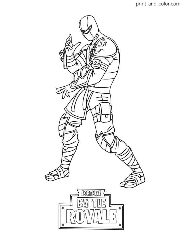Accomplished image regarding free printable fortnite coloring pages
