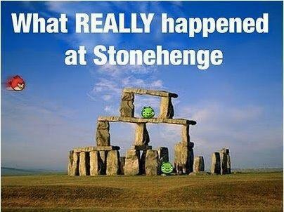 What Really happened at Stonehenge LOL
