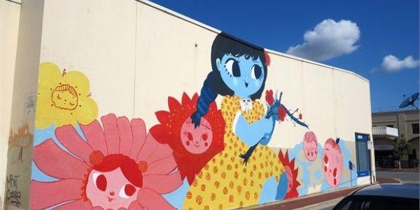 @sherriewilsonprojects  #misery #miseryland #mural #perth #streetart  http://www.sherriewilsonprojects.com/