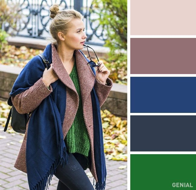 List of 15 outfit color combinations