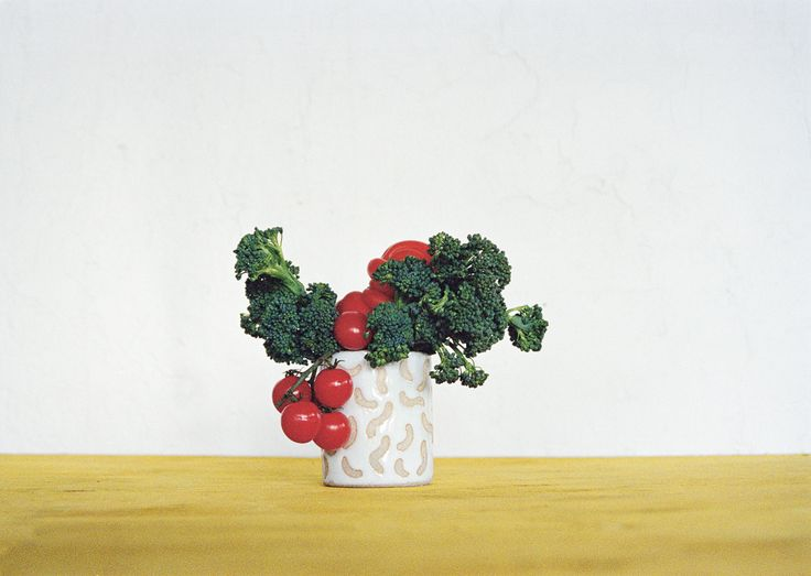 Ceramics vase + edible arrangement in Lunch Lady Issue Two. Lunch Lady Magazine available at http://shop.hellolunchlady.com.au/