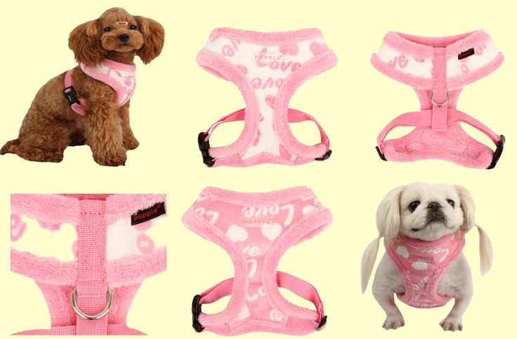 Love Letter (winter) harness from Puppia! Is adorable, fashionable and warm.....what more could a girl want?  This harness comes pink or white and sizes small, medium and large.  Retails for $24.00 but is currently on sale for only $20.00