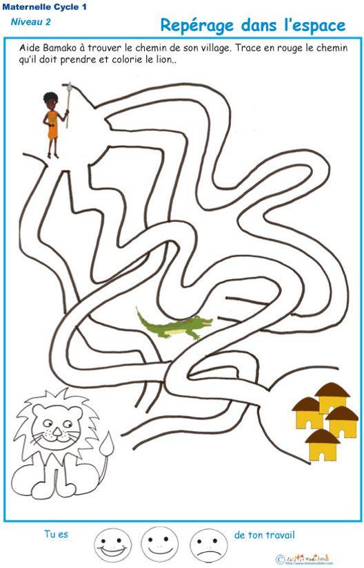 25 best labyrinthe images on pinterest labyrinthes banquise et espace maternelle - Jeu labyrinthe a imprimer ...