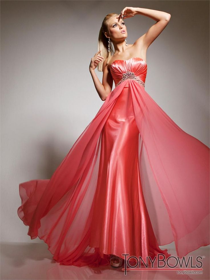 35 best Gorgeous Prom Dresses images on Pinterest   Party wear ...
