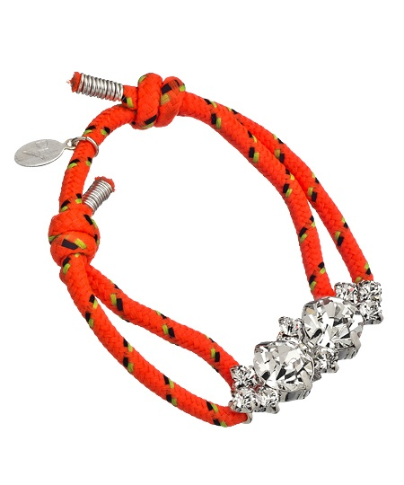 Devora Libin Jewels Katelyn Florescent Cord Bracelet