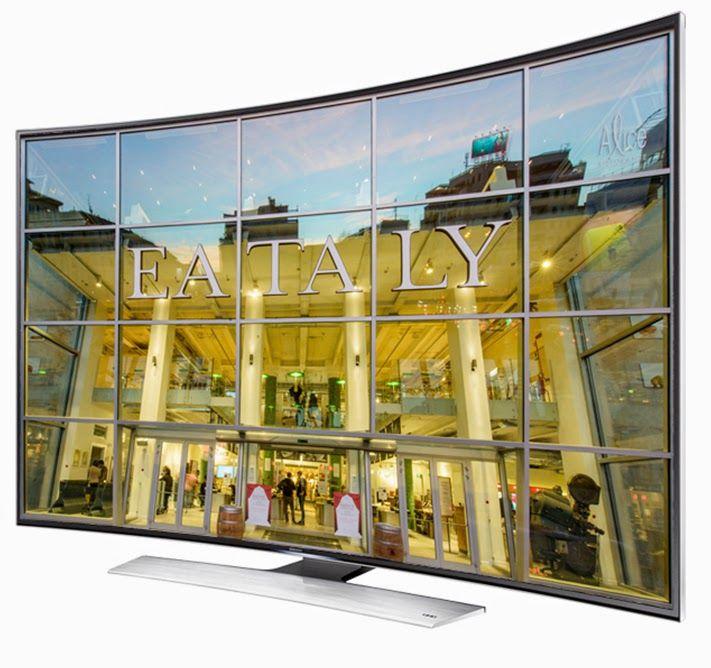 Fantechnology: Arriva il primo TV UHD TV CURVO al mondo di #Samsun...