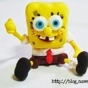 How to Make Spongebob Using Fondant, Step by Step. | Oh My Fiesta Cakes!