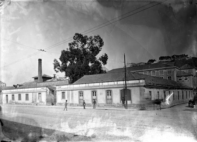 Lisboa de Antigamente: Rua de Arroios: a Fábrica de Cervejas «Leão» e a E...
