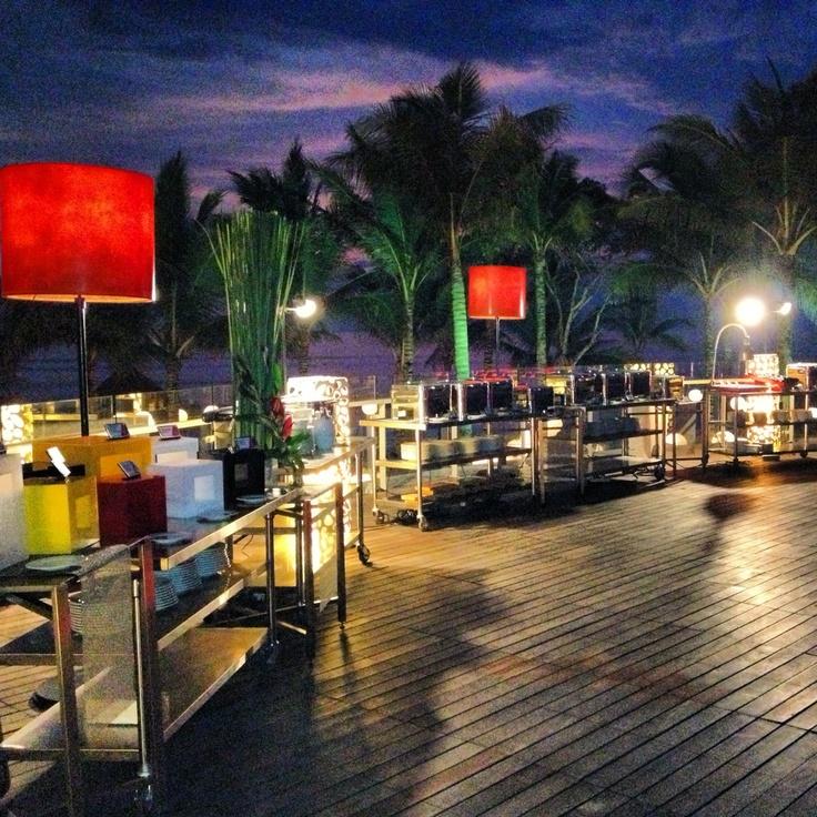 Sunset @Woosky, W Hotel Bali.